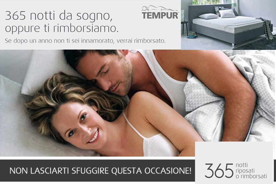 promozione 365 notti tempur
