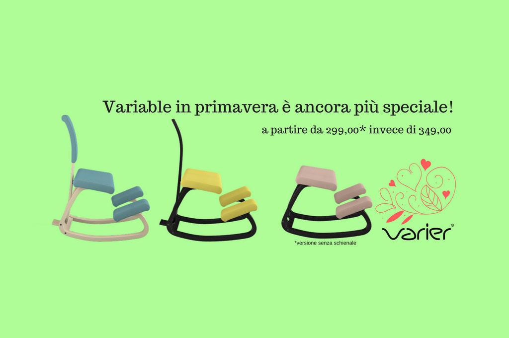 seduta ergonomica Variable varier